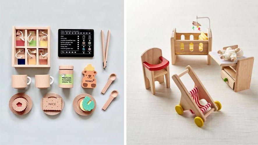 รวมไอเดียชุดอุปกรณ์ของเล่นจากไม้