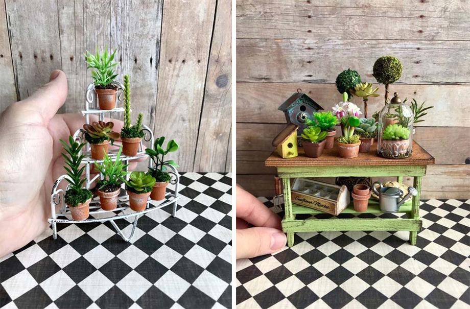 DIY รวมแบบมุมสวนขนาดจิ๋ว