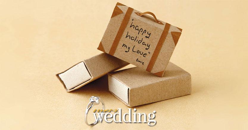 DIY กล่องใส่แหวนแต่งงานแทนใจที่ประดิษฐ์ง่ายๆ แถมประหยัดงบ