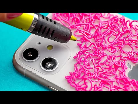 DIY เคสโทรศัพท์ง่ายๆ งานประดิษฐ์ด้วยปากกา 3 มิติ